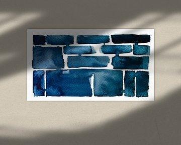 Chill Vibes | 01 van WatercolorWall