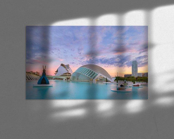 Sfeerimpressie: Stad van de Kunsten en Wetenschap - Valencia, Spanje van Bas Meelker
