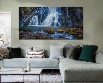 Panorama Gollinger Waterval