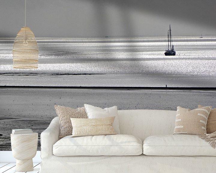 Sfeerimpressie behang: De wadden van Terschelling van Jessica Berendsen