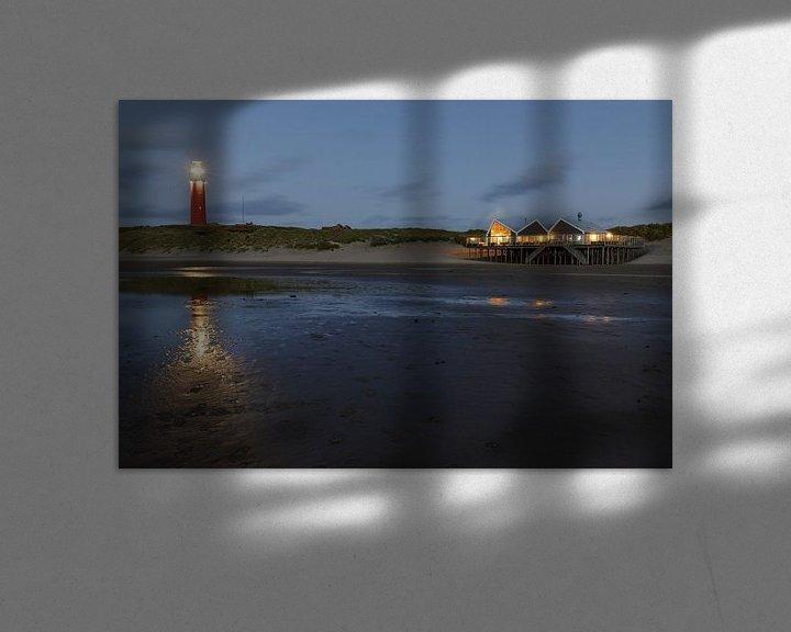 Beispiel: Leuchtturm Texel, Mast 31. von Anjo ten Kate