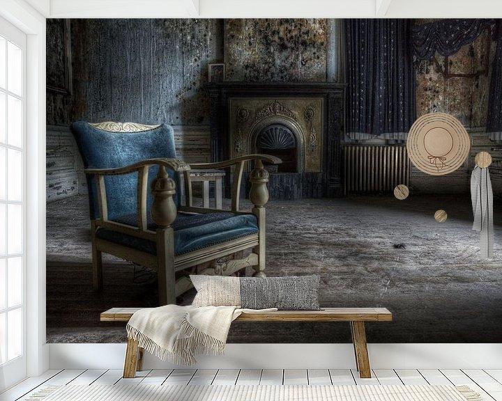 Sfeerimpressie behang: De Stoel van Richard Driessen
