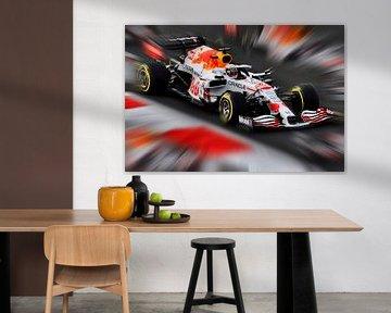 Max Verstappen - New Design van DeVerviers