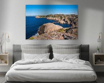 Paysage de la péninsule de Lindesnes en Norvège