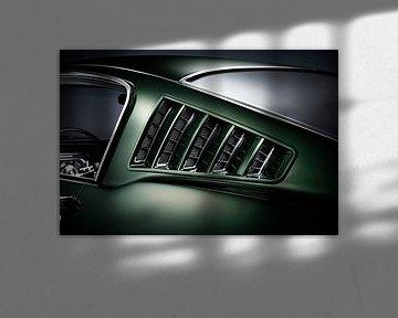 Ford Mustang Fastback 1965 louver vents van Thomas Boudewijn