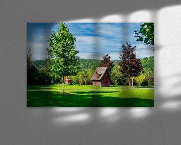 Mooi park bij de Viba Nougat World van Oliver Hlavaty