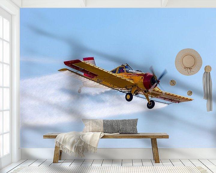 Beispiel fototapete: PZL-106 Kruk versprüht Dünger von Tilo Grellmann | Photography