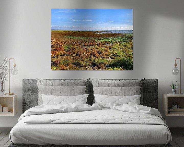 Sfeerimpressie: Herfstkleuren op de kwelder van Jan Huneman