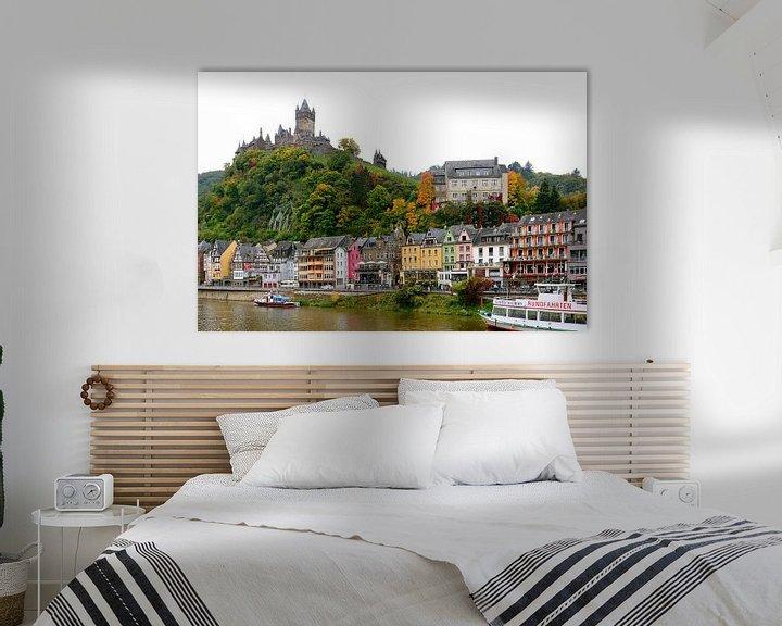 Sfeerimpressie: Cochem on the Moselle van Gisela Scheffbuch