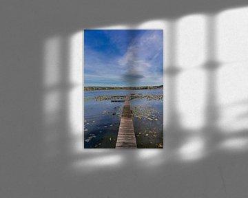Een dag aan het meer in de Werra Vallei van Oliver Hlavaty