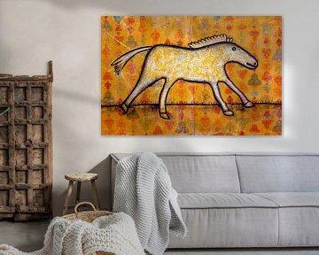 WALLPAPER HORSE von Ans de Bie