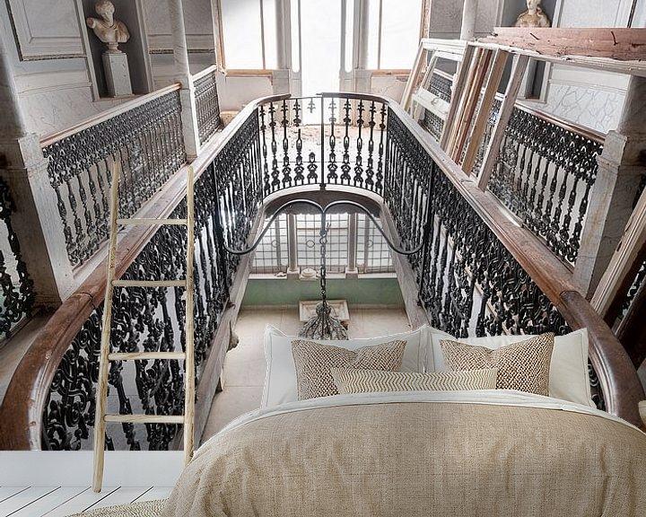 Beispiel fototapete: Treppe im Splendid Palace. von Roman Robroek