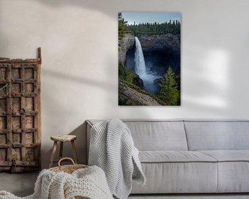 Wells Gray Provincial Park, Helmcken Falls van Discover Dutch Nature