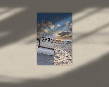 Strandkörbe auf Juist von Dirk Rüter