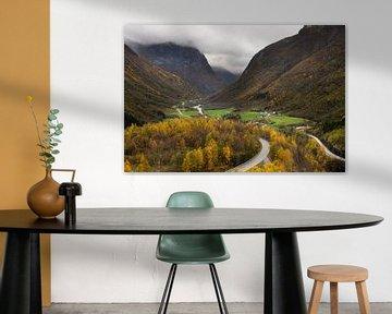Stryn Norvège, couleurs d'automne sur Lars Scheve