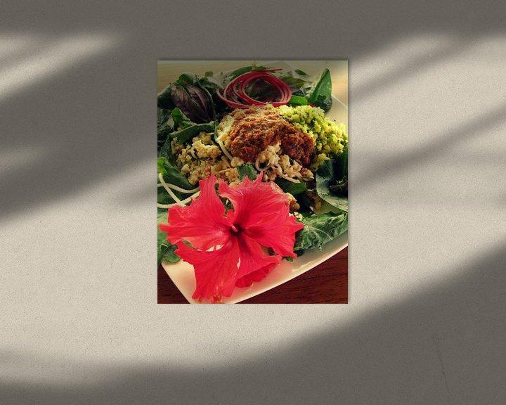 Sfeerimpressie: Een Tropische raw food lunch van Daphne Wessel