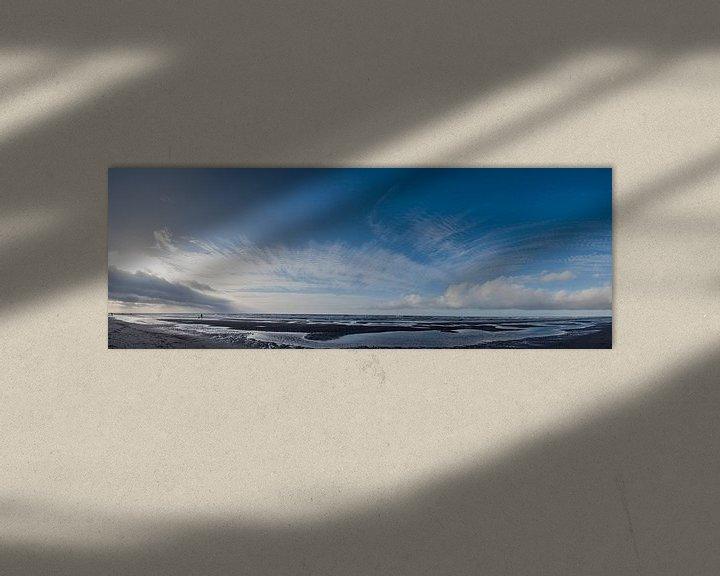 Sfeerimpressie: Zonsondergang aan het strand - Jan 2014 - 01 van Arjen Schippers