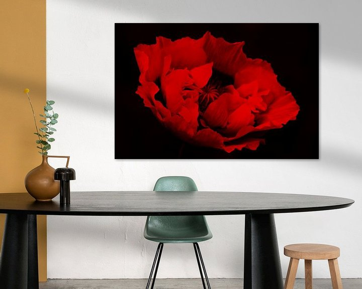 Sfeerimpressie: rood&zwart van Yvonne Blokland