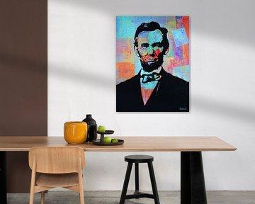 Präsident Abraham Lincoln von Kathleen Artist Fine Art