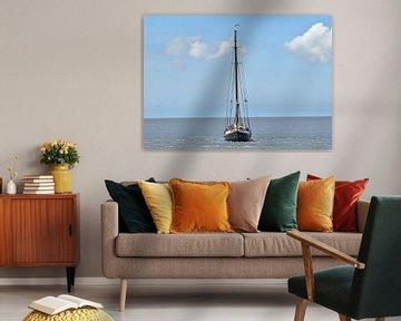 Le navire de la flotte brune Averechts sur Piet Kooistra