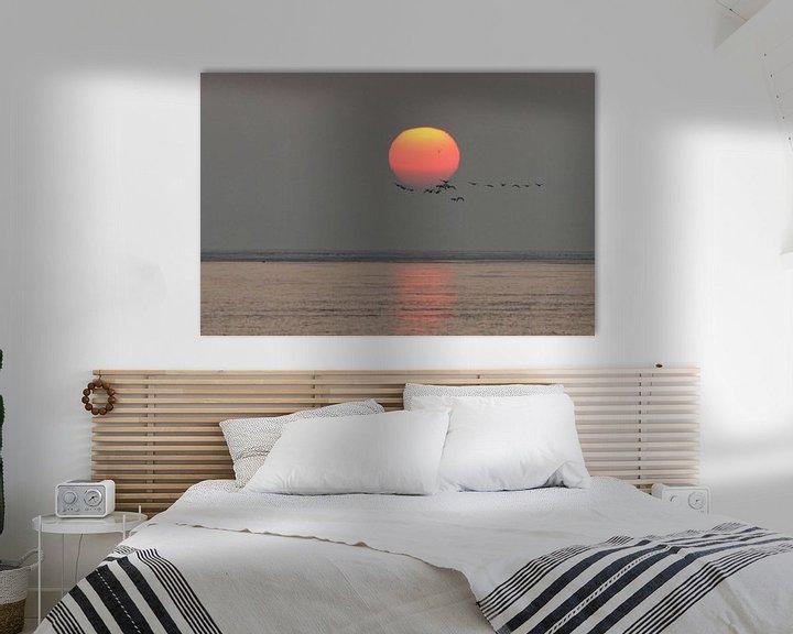 Impression: Trekvogels bij zonsopkomst sur Bob Bleeker