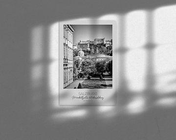 In beeld: SALZBURG Prachtig uitzicht op de vesting Hohensalzburg van Melanie Viola
