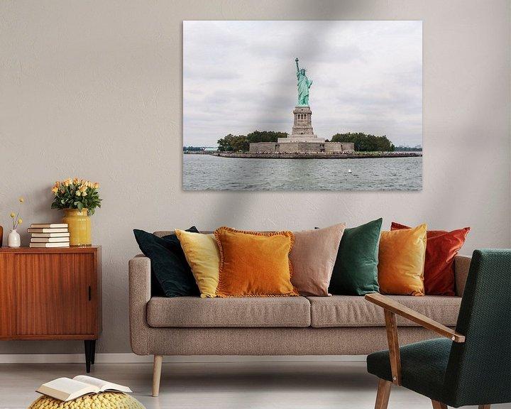 Sfeerimpressie: Liberty Island van Alex Hiemstra