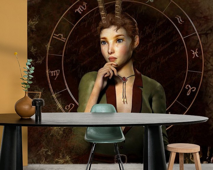 Sfeerimpressie behang: Capricorn van Britta Glodde