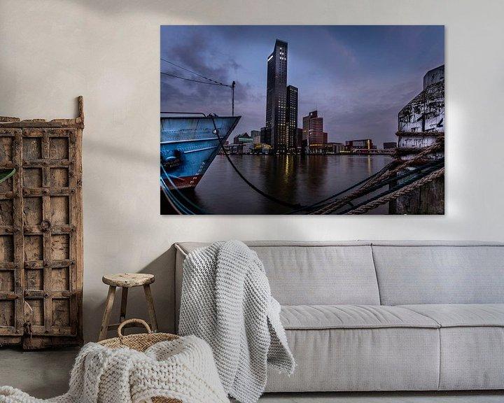 Sfeerimpressie: Maastoren Rotterdam van Martijn Barendse