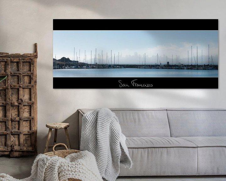 Sfeerimpressie: San Francisco Skyline van Wim Slootweg