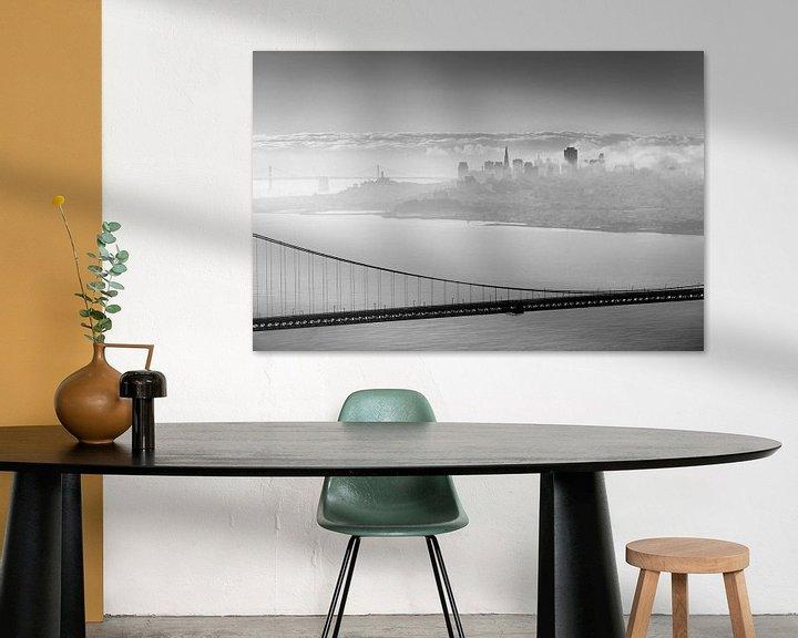 Sfeerimpressie: San Francisco behind the bridge van Wim Slootweg