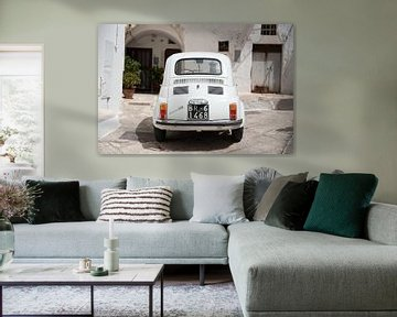 Fiat 500 in Farbe   Italien   Reisefotografie bildende Kunst von Monique Tekstra-van Lochem