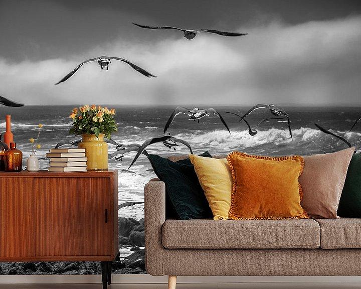 Sfeerimpressie behang: Pacific Coast van Wim Slootweg