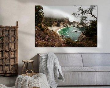 Julia Pfeiffer Burns State Park van Wim Slootweg
