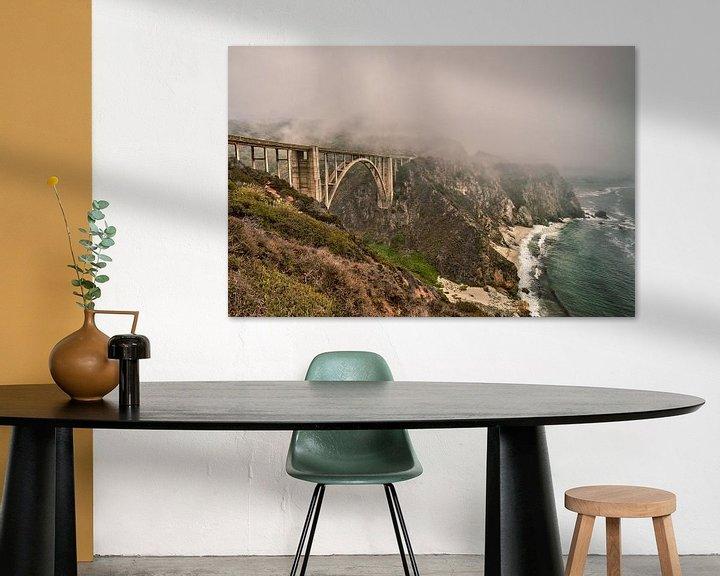 Sfeerimpressie: Bixby Creek Bridge van Wim Slootweg