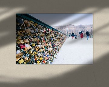 Pont des Arts van Anja Daleman