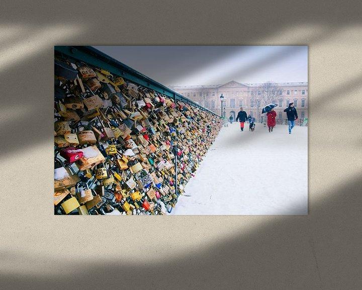 Sfeerimpressie: Pont des Arts van Anja Daleman