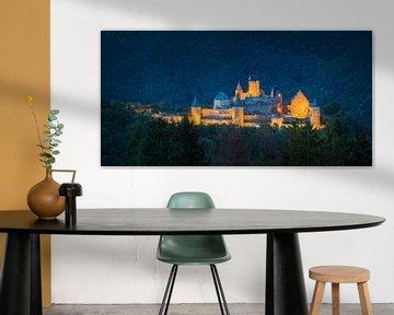 Panorama du château de Bourscheid