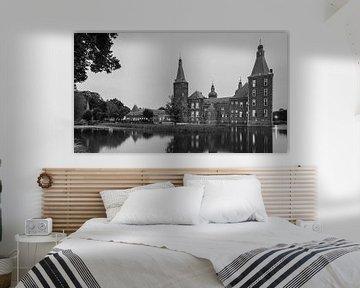 Kasteel Hoensbroek in zwart-wit