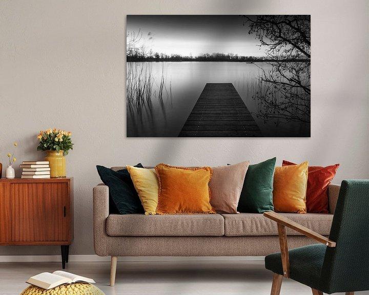 Sfeerimpressie: Steiger in het Haarlemmermeerse Bos van Wim Slootweg