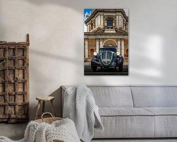 Classic Fiat 524 in Rome van juvani photo