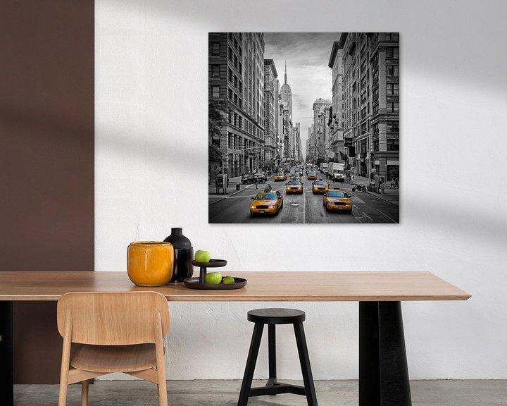 Beispiel: 5th Avenue NYC Verkehr II von Melanie Viola