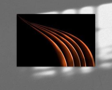 orange von Petra Voß
