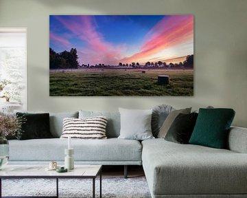 Explosive Farben bei Sonnenaufgang II von Anneke Hooijer