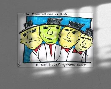 4 Bro's von Toekie -Art
