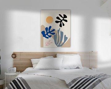 Inspiriert von Henri Matisse von Mad Dog Art