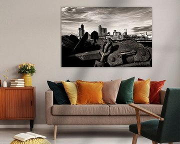Havenstad Rotterdam von Vincent van Kooten