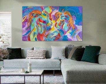 Sieben Pferde im Himmel von Christel De Buyser
