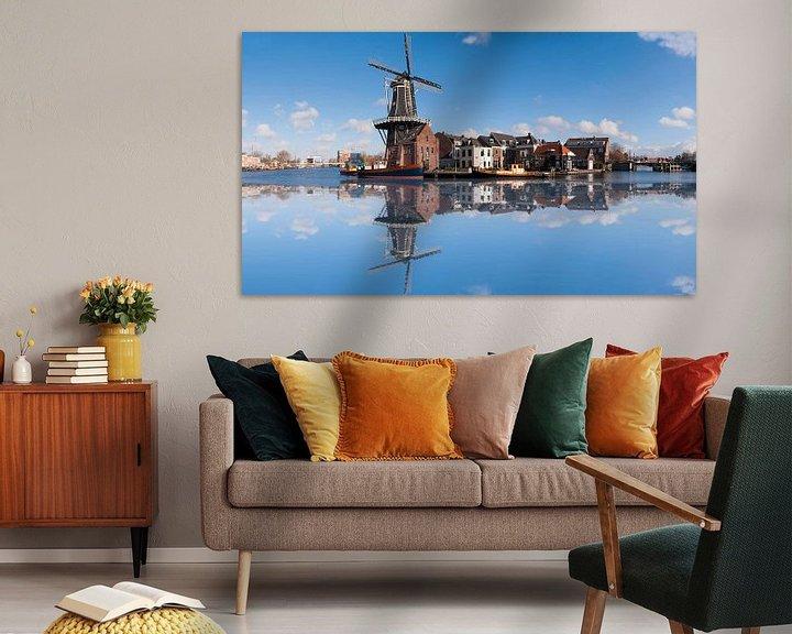 Sfeerimpressie: De Adriaan windmill in Haarlem van Brian Morgan