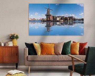 De Adriaan windmill in Haarlem van Brian Morgan